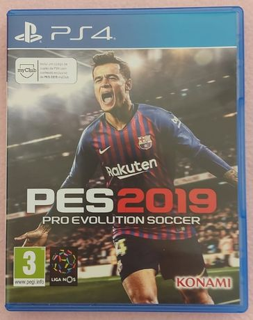 Jogo PS4 - PES 2019