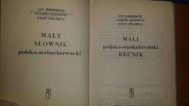 Mały słownik serbskochorwacko-polski