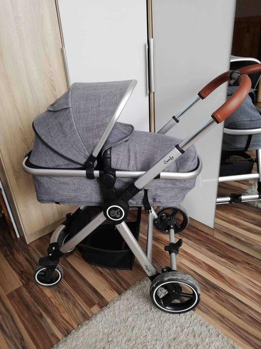 Wózek dzieciecy 3w1 Beeyu Comfy Pustynia - image 1