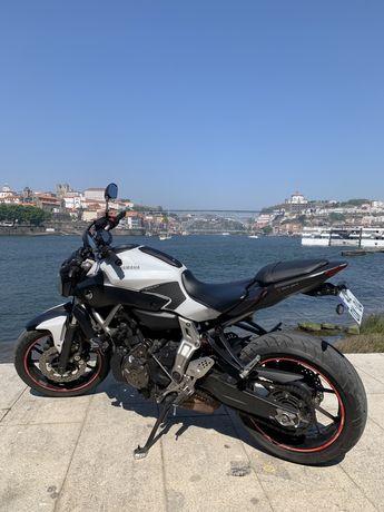Yamaha MT 07 55kw