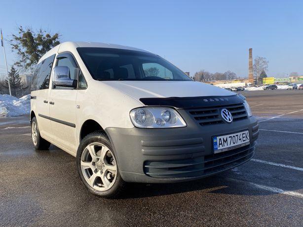 VW Caddy 1,9 tdi 77kw пассажир