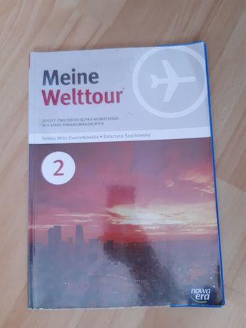 Meine Welttour 2 zeszyt ćwiczeń do języka niemieckiego