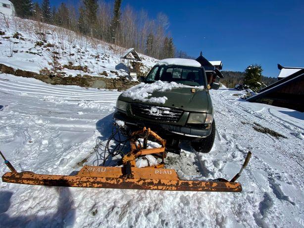 Pług Śnieżny do Pickupa 12v