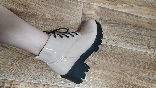 Осенние ботинки. полуботинки. Женские ботинки 40рр