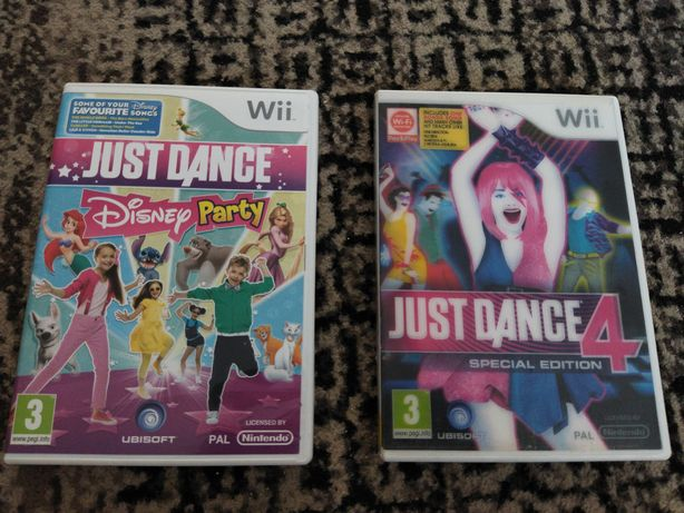 Jogos Just Dance para a Wii