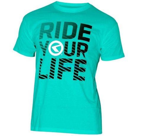 -WYPRZEDAŻ- Koszulka KELLYS RIDE YOU LIFE krótki rękaw na LATO - XL