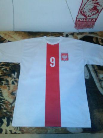 Koszulka Reprezentacji Polski RL9 w rozmiarze metki XXL(Nowa)