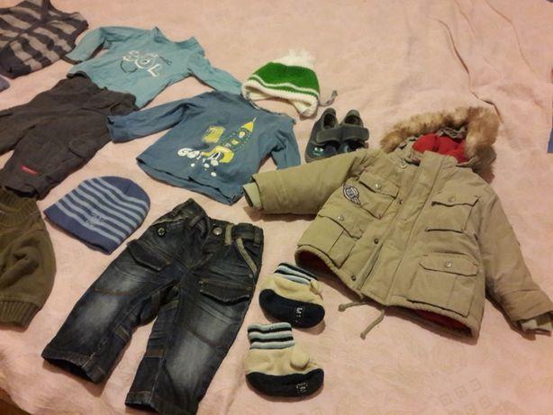 Большой пакет вещей и обуви на мальчика с 6 месяцев до 2 лет.