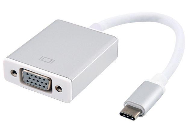Адаптер USB 3.1 Type-C -> VGA (монитор) переходник