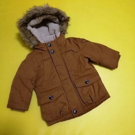 Зимняя парка C&A baby club 4-6 мес куртка