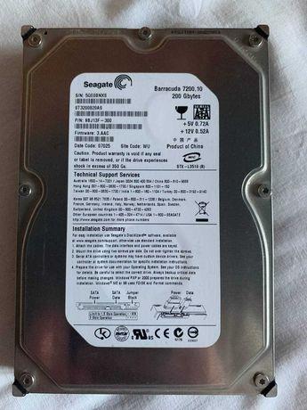 Жесткий диск на 200 Гб