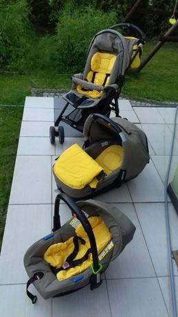 Jane solo Wózek spacerowy+Gondola+Nosidełko/Fotelik samochodowy