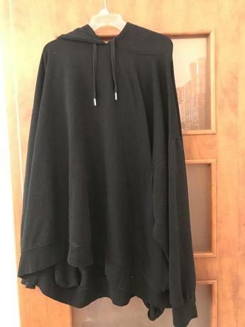 Czarna bluza oversize xxxl