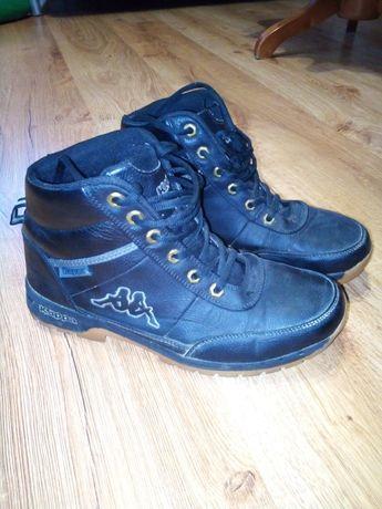 Buty skórzane zimowe kappa 41