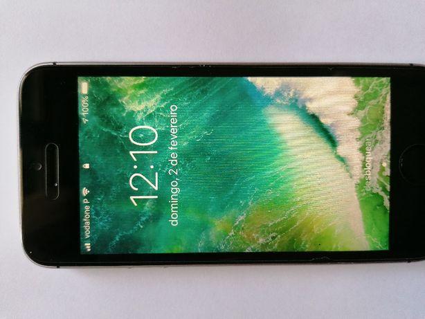 Smartphone Apple iPhone SE Preto - 16 GB