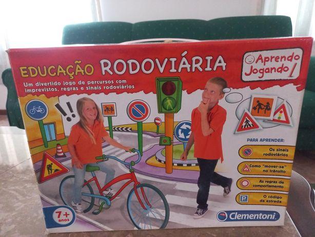 Jogo de Educação Rodoviária +7 anos