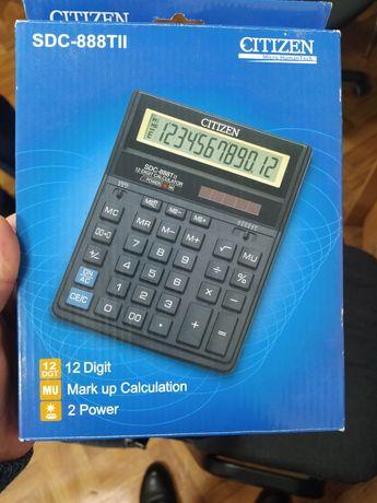 Калькулятор Citizen SDC-888T, новый в упаковке