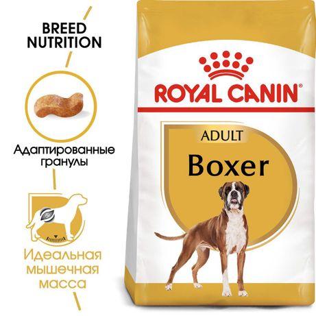 Royal Canin Boxer Adult Роял Канин сухой корм для собак 12кг