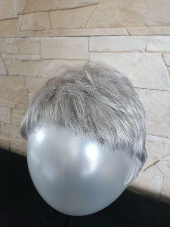 Peruka krótka Włos naturalny