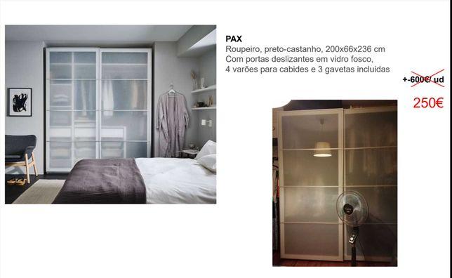 Roupeiro PAX IKEA de duas portas