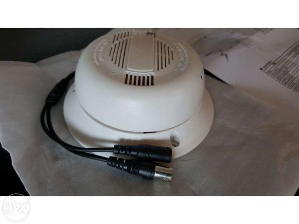 Camera oculta detector sensor de fumo chipset sony effio-e ccd 1/3 cam