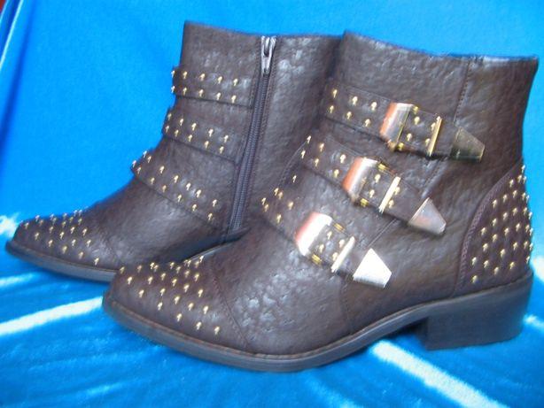 "Ботинки ""ковбойские"" Yoki, размер 38"