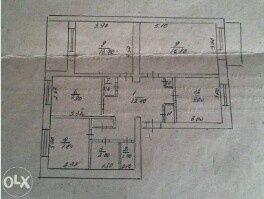 Квартира 4 комнаты, ОБМЕН