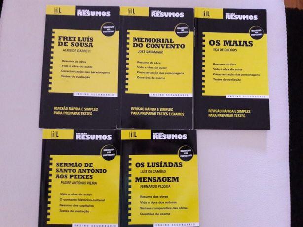 Resumos livros autores Portugueses