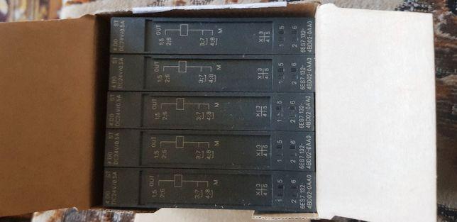 Simatic DP, Moduły wyjść binarnych - 6ES7132-4BD02-0AA0