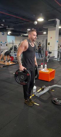 Personal Trainer Musculação/Boxe Massagem de relaxamento