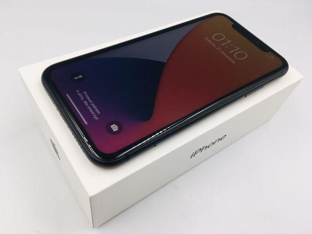 iPhone 11 64GB BLACK • BATERIA 100% • GW do 07.05.21 • AppleCentrum