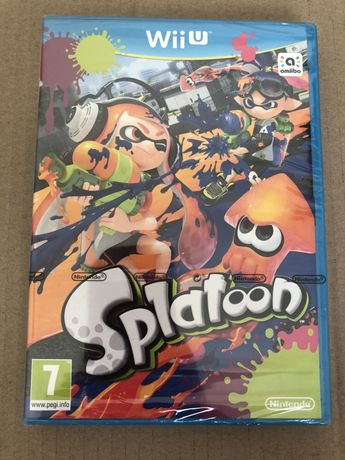 Gra wiiu Splatoon Nintendo