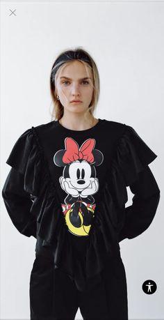 Bluza Zara z Myszką Minnie