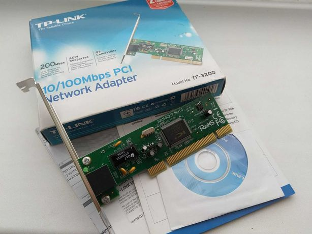 TP-LINK TF-3200 10/100 мережевий адаптер PCI
