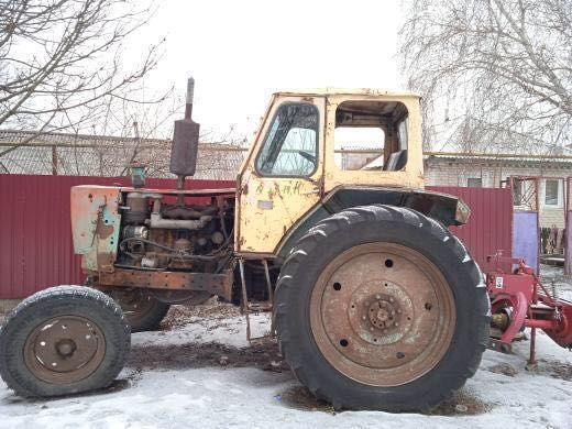 Трактор ЮМЗ с косаркой!