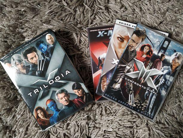 "Trilogia ""X-MEN"", em DVD"