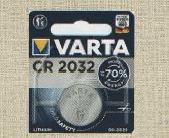 Pilha VARTA CR2032
