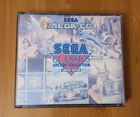 Sega Classics Arcade Collection Limited Edition- Sega Mega CD