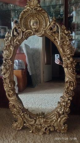 Зеркало из гипса