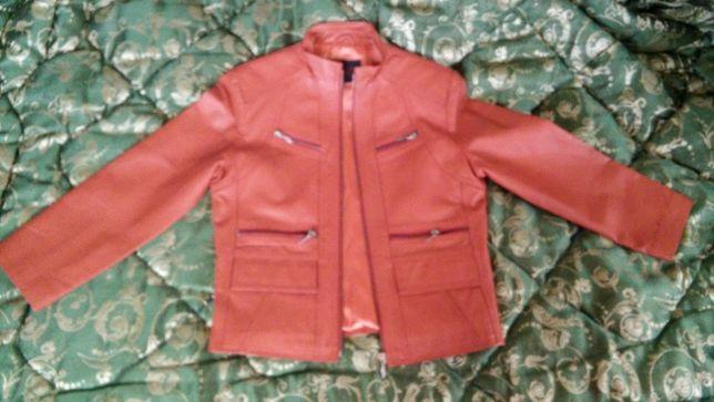 р.М кожаная куртка курточка пиджак