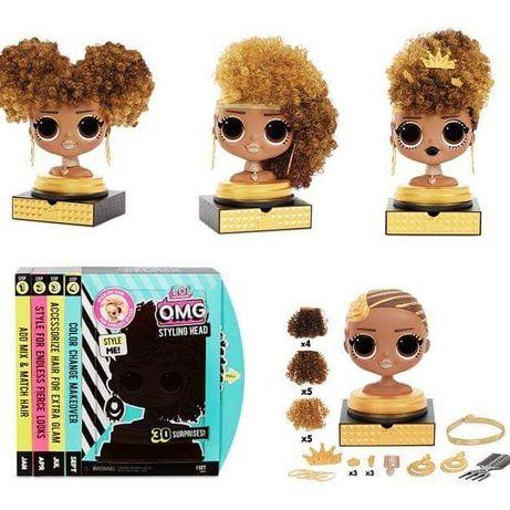 L.O.L O.M.G. Голова манекен Королева Пчелка MGA Styling Head Royal Bee