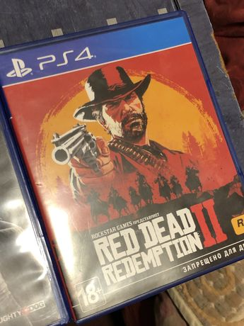 Red Ded Redeption 2 (RDR2) на PS4