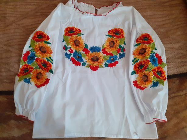 Нові! Вишиванки на дівчинку 122-146,158 розмір / вышиванка для девочки