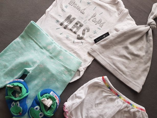 Lullalove zestaw ubrań 0-3 m