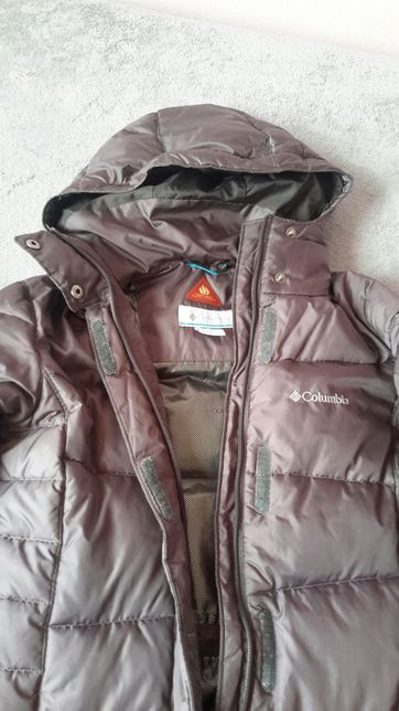 Пальто-пуховик Columbia omni-shield ,xs