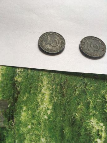 10 рейхспфеннинг 1940.1941 цинк