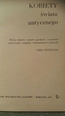 Kobiety świata antycznego Lidia Winniczyk
