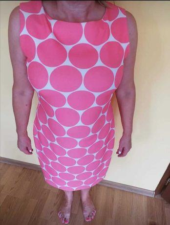 Sukienka w grochy Bawełna 100% rozmiar 42