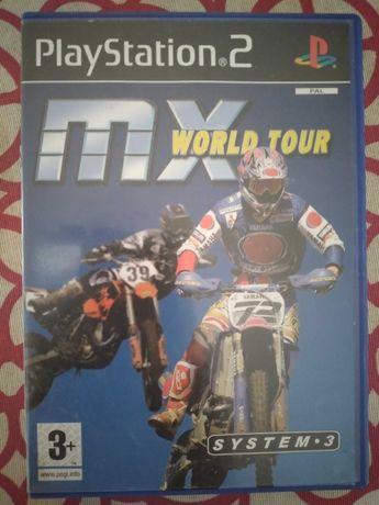Jogos para a PS2 Playstation 2 - MX World Tour e outros