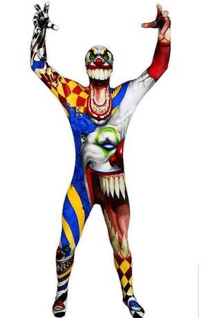 Strój na Halloween klaun dla dziecka